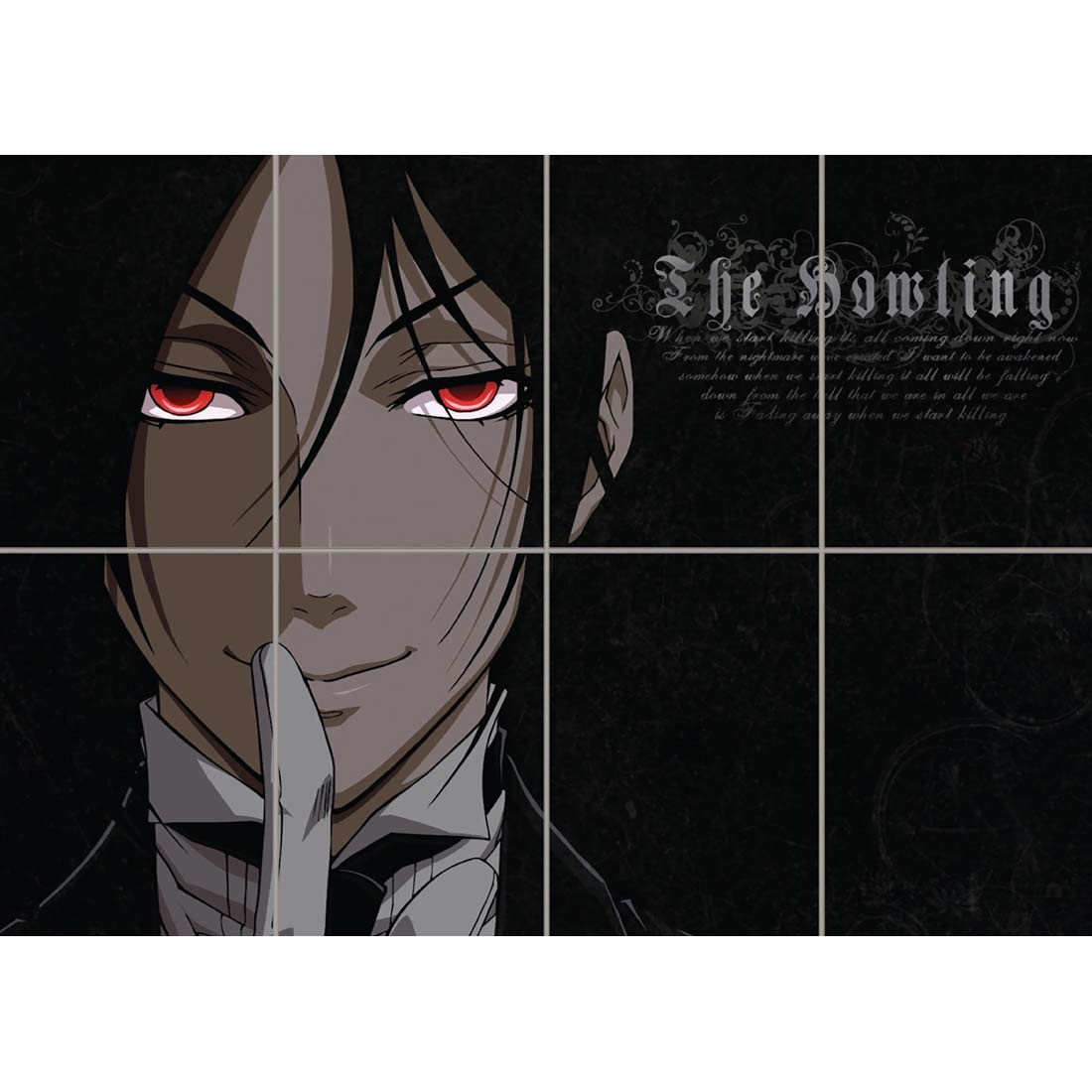 MANGA BLACK BUTLER NEW GIANT POSTER WALL ART PRINT PICTURE G874