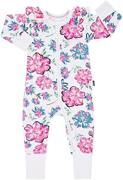 Amazon.com: Bonds Baby WONDERSUIT/Zippy BNWT Fantasia Floral ...