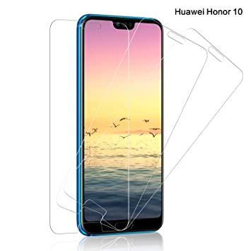 SNUNGPHIR® [3pcs Huawei Honor10 Cristal Vidrio Templado Protector ...