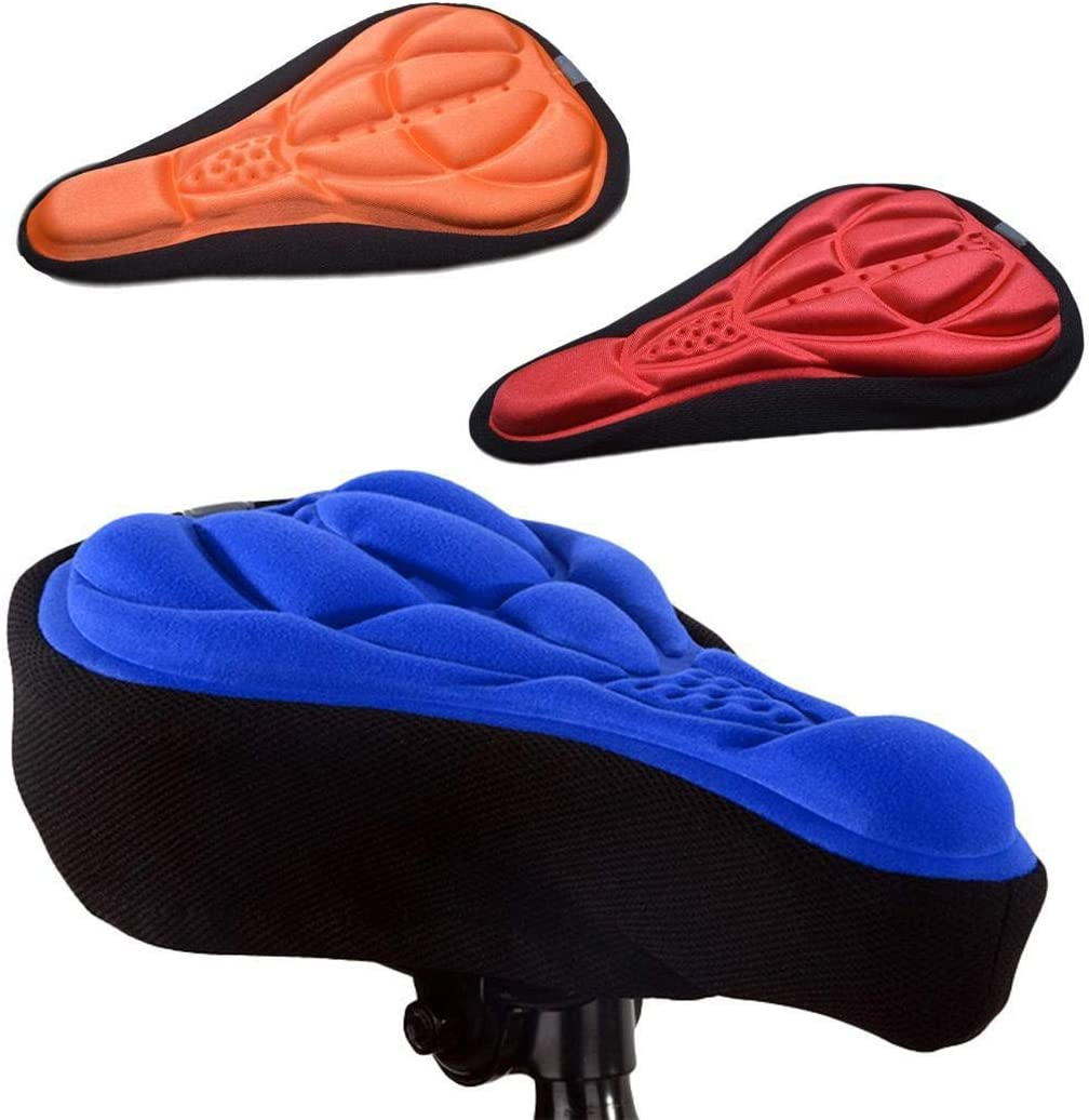 Funda de cojín para asiento de bicicleta 3D  accesorios y equipo para bicicleta