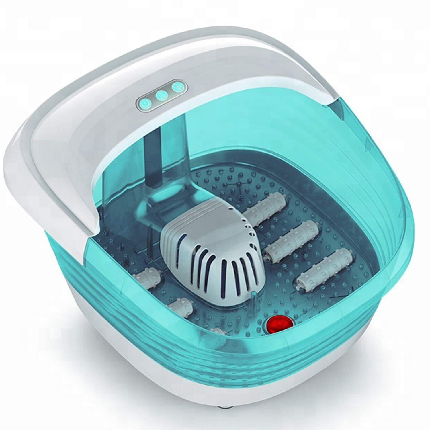 SmartHome Foot Spa - Portable Heat Therapy Massager Tub - Quick & Easy Pain & Tension Relief - Soothe & Relaxes Tired Muscles for Salon & Home Use
