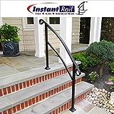 InstantRail 4-Step Adjustable Handrail (For Concrete Steps)