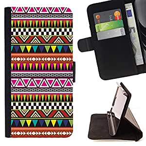Pattern Queen - Hipstr Nebula Aztec Pattern - FOR Apple Iphone 5C - Hard Case Cover Shell