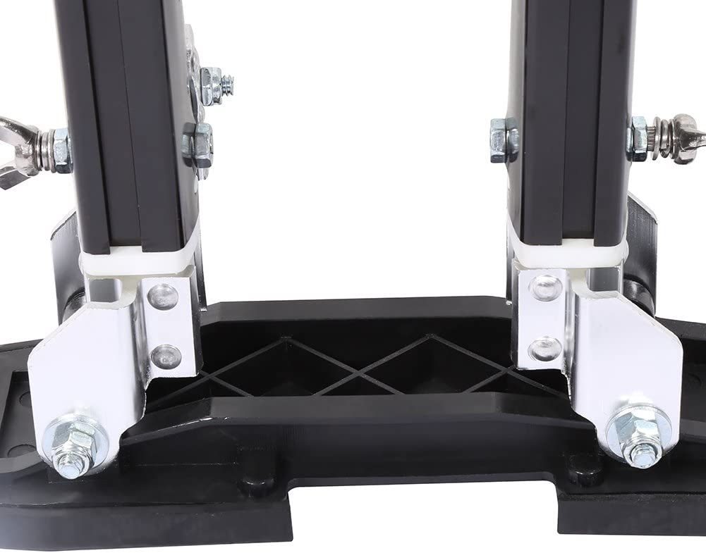 Plastering Drywall Adjustable Height Professional for Painting ClUKING 1 Pair of Aluminium Alloy Paints