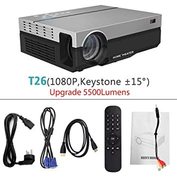 SMEI 3D Beamer Proyector Full HD T26k Nativa 1080p 5500 ...
