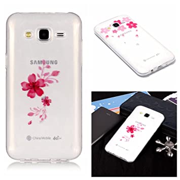 coque samsung j3 2016 rouge silicone