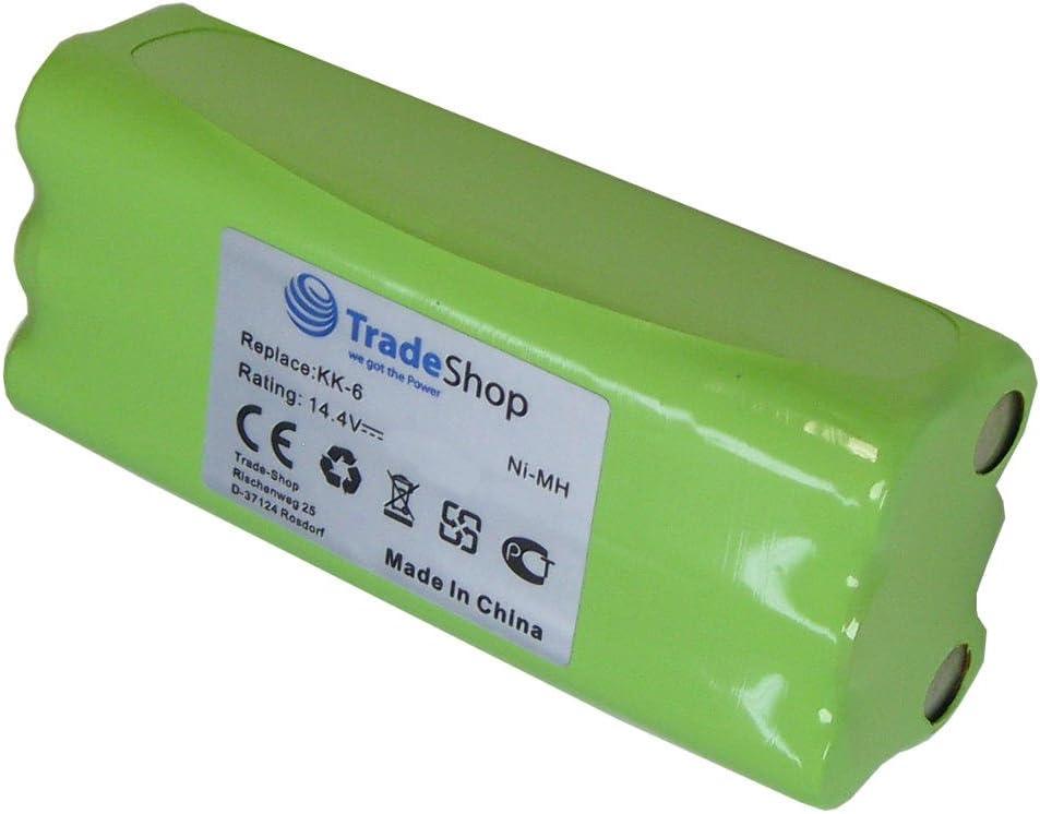 Batterie 14.4 V 800 mAh pour Dirt Devil Libero m606-1 Libero m606-2 m606
