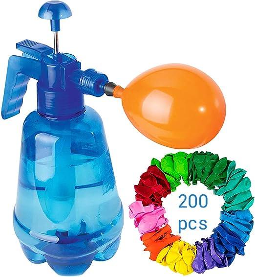 clifcragrocL Bombas Globo de Agua portátil Color al Azar Bomba ...