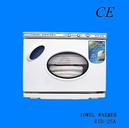 Calentador y UV Esterilizador de Toallas 25L para Centros Estéticos