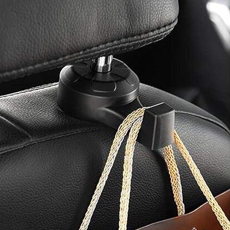 4Pcs Car Seat Truck Coat Hook Purse bag hanging Hanger Auto Bag Organizer Holder