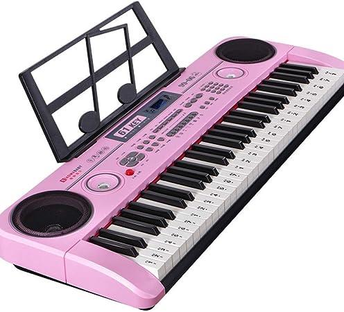 Juguete de piano electrónico, teclado de música digital de 61 ...
