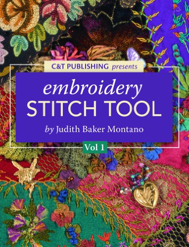 (Judith Baker Montano's Embroidery & Crazy Quilt Stitch Guide- Beginners Vol. 1 for Amazon Android)