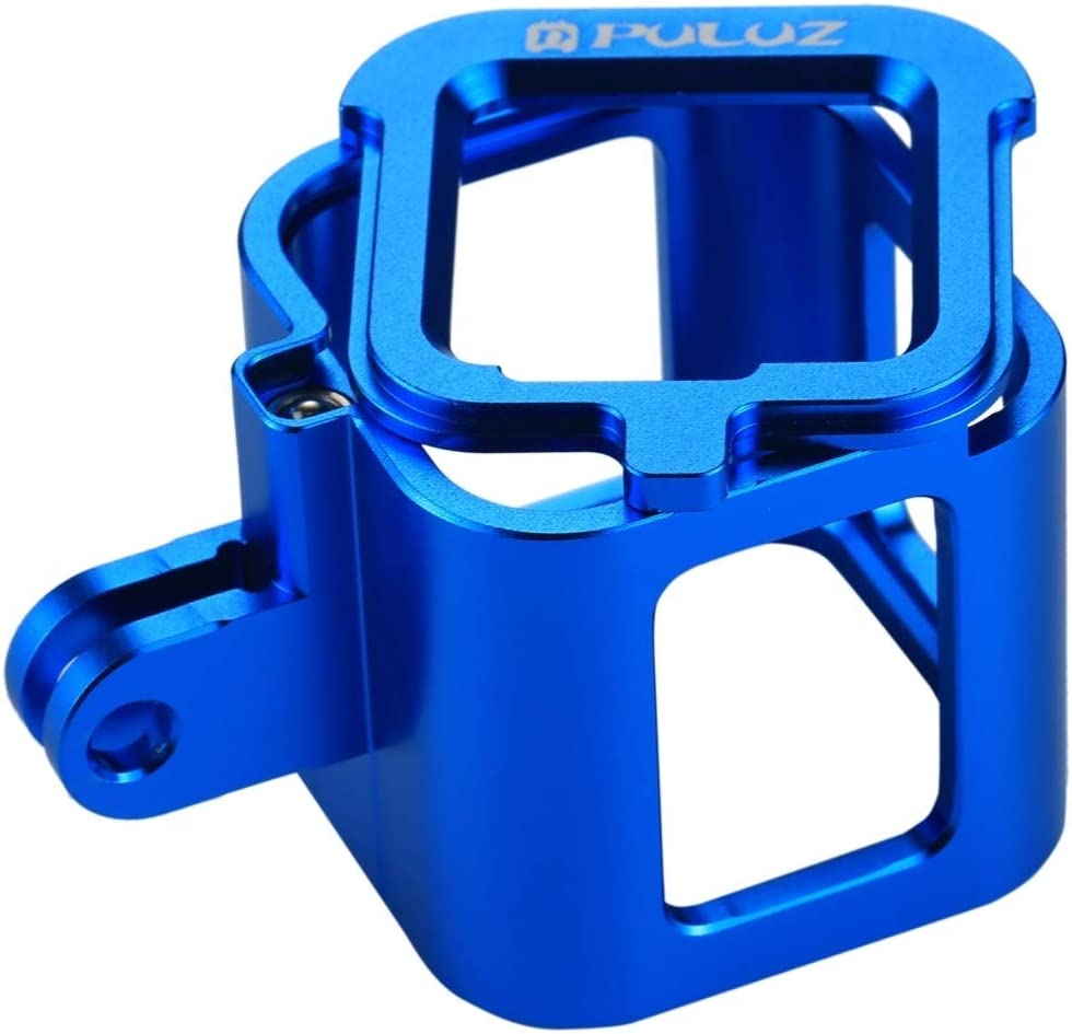 VKeyueDa Color : Blue VKeyueDa Housing Shell CNC Aluminum Alloy Protective Cage with Insurance Frame for GoPro HERO5 Session //HERO4 Session//Hero Session Black