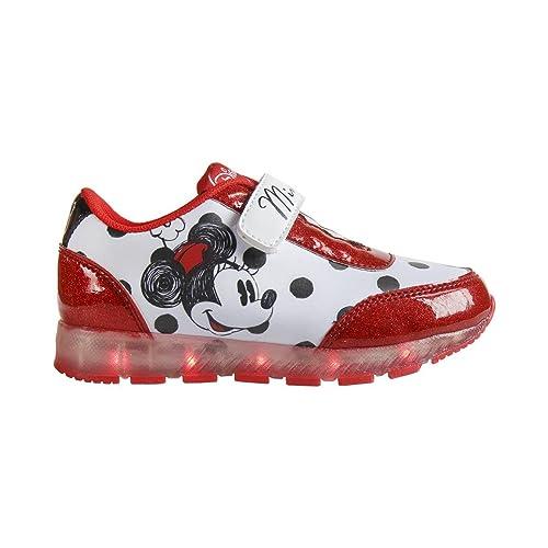 Minnie Mouse - Zapatilla Deportiva Baja Con Luz: Amazon.es: Zapatos y complementos