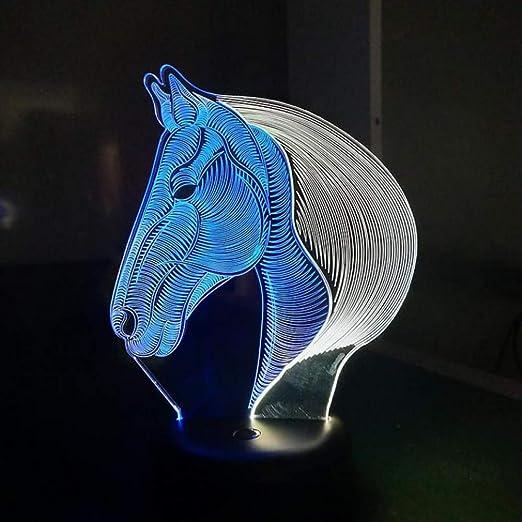 iMayGou Lámpara de Mesa de luz Nocturna, Fuente de luz led Imagen ...