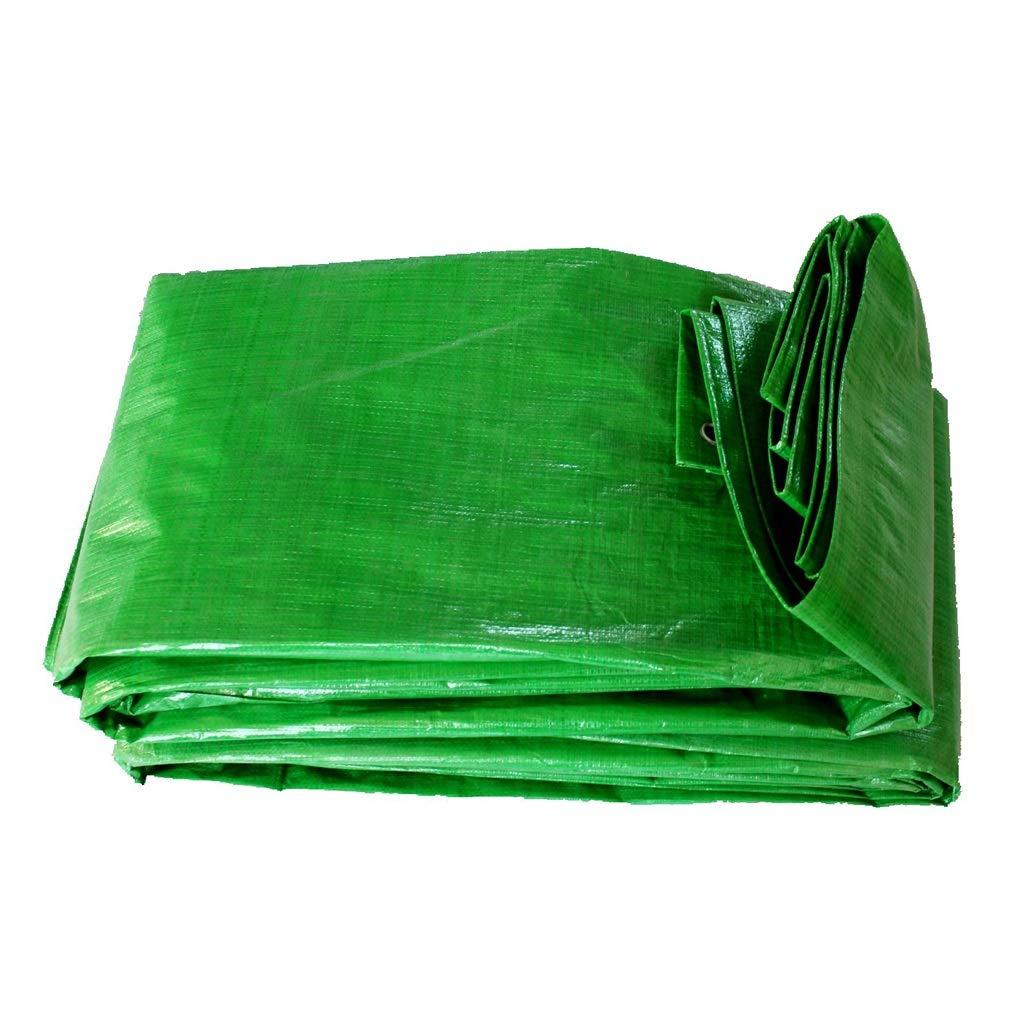 LI SHI JIE SHOP Wasserdichte Regenplane Oxford-Tuch im Freien - grüne Autoplane, Sonnenschutz, Stärke 0.33 Millimeter, 140 g / m2, eine Vielzahl der Größen vorhanden.