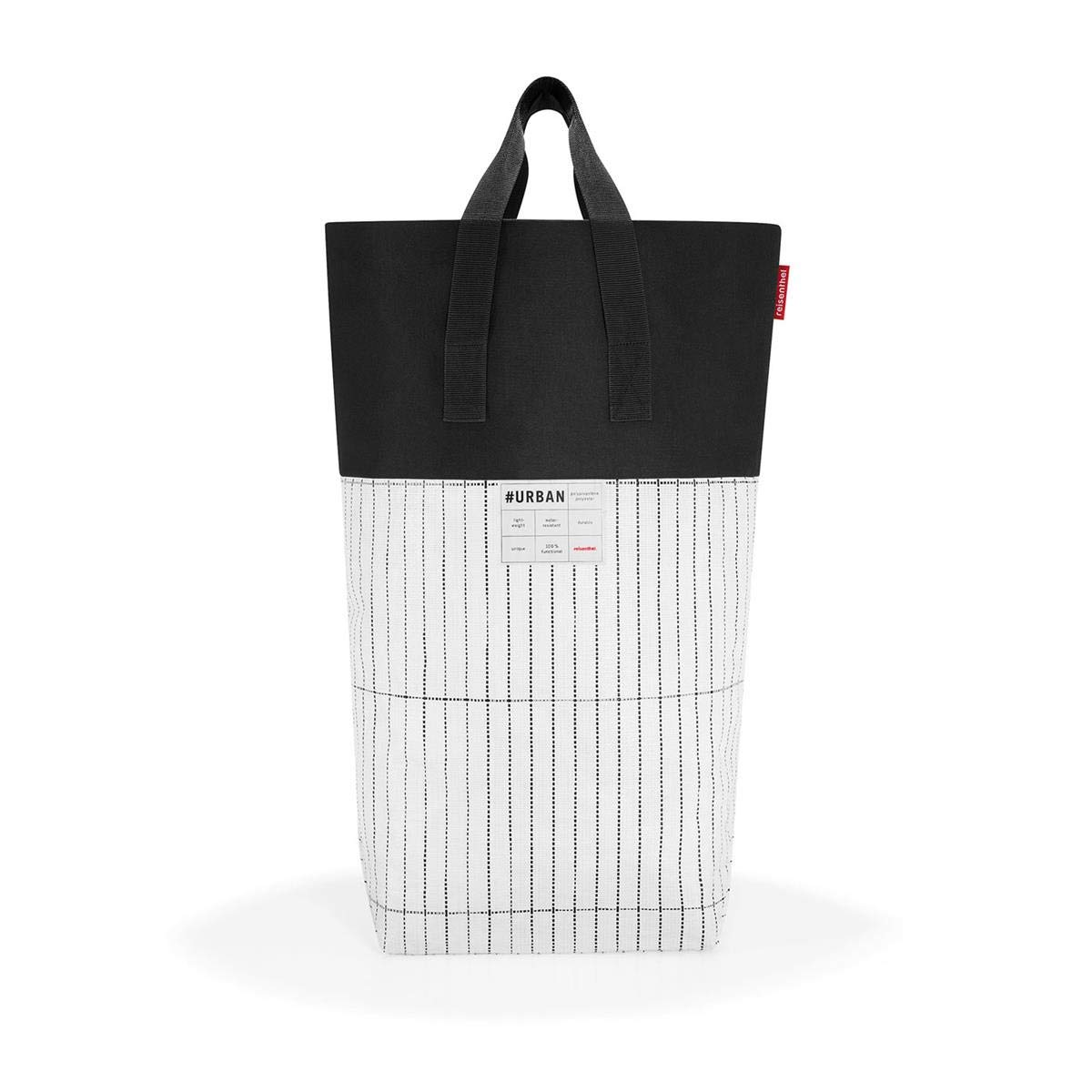 Reisenthel urban Sporttasche 68 cm, 60 L, Black White PD7049