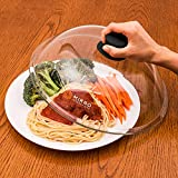 Mikro Innovations Glass Microwave Plate Cover Lid