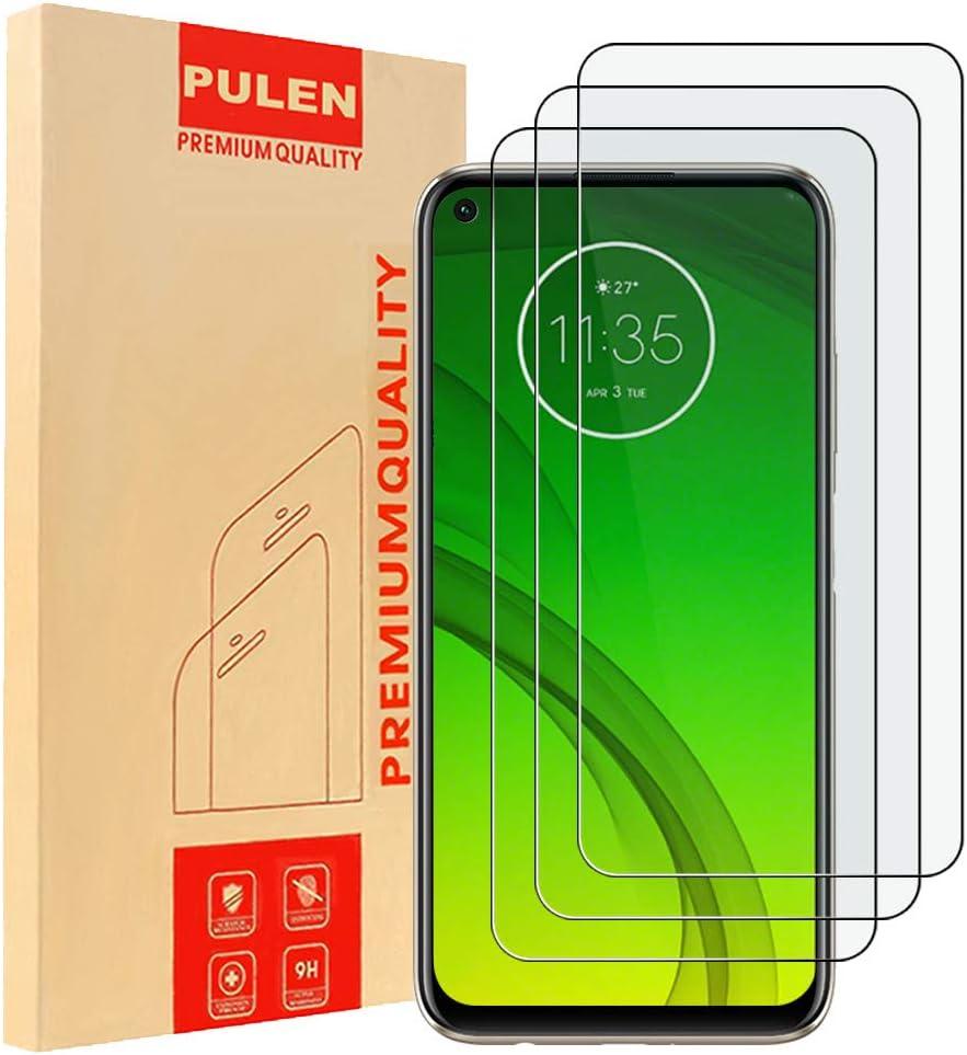 3 Vidrios Templados Para Motorola G8 Power, Pulen