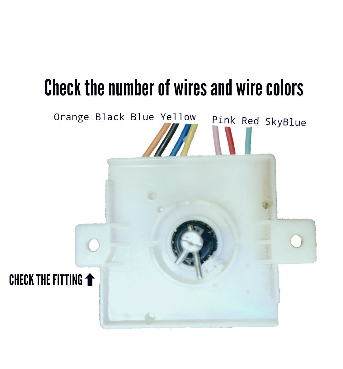 [SCHEMATICS_4FR]  doctorspare Washing Machine Timer, 7 Wire, Compatible with Whirlpool (Match  & Buy): Amazon.in: Home & Kitchen | Wiring Diagram Of Washing Machine Timer |  | Amazon.in