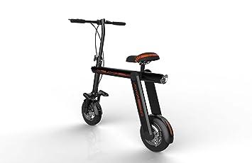 Joyor Mbike Bicicleta/Patinete Eléctrico Ecológico y Plegable, Negro, Talla Única