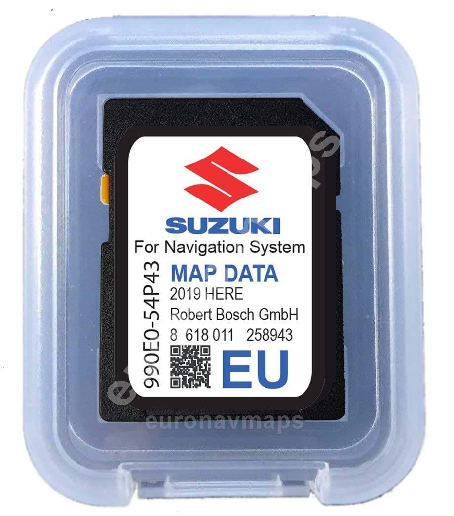 SD CARD Suzuki SLDA Europe 2018-990E054P43000 here