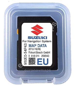 Tarjeta SD Suzuki SLDA Europe 2018-990E054P43000
