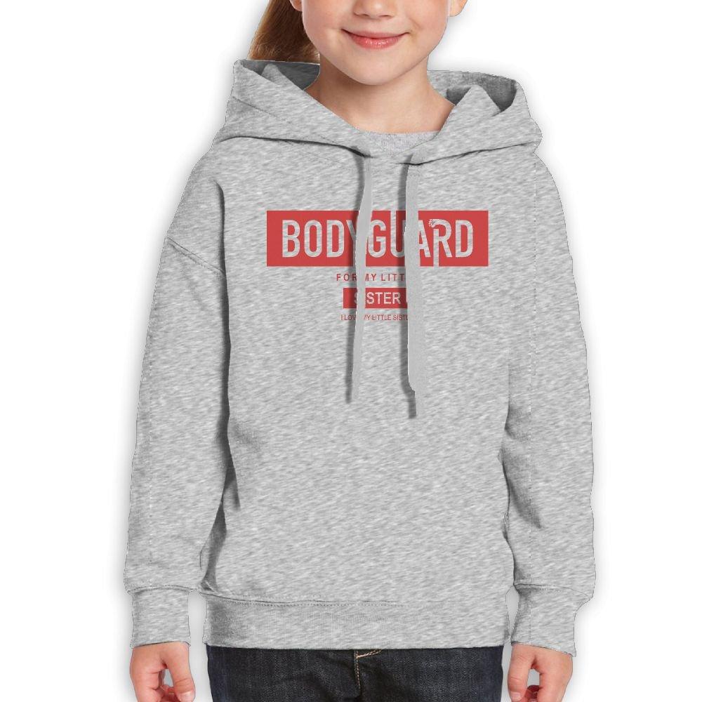 DTMN7 Bodyguard For My Little Sister Funny Printed O-Neck Blouses For Girl Spring Autumn Winter