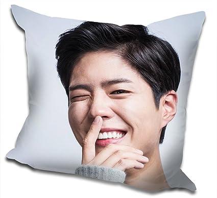Park Bo Gum Photo Throw Pillow Fans Custom (2)