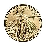 2018 American Gold Eagle (1/10 oz) $5 Brilliant Uncirculated US Mint