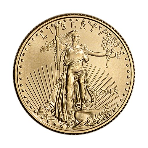 2018 American Gold Eagle (1/10 oz) $5 Brilliant Uncirculated US Mint (Us Coin Spot)