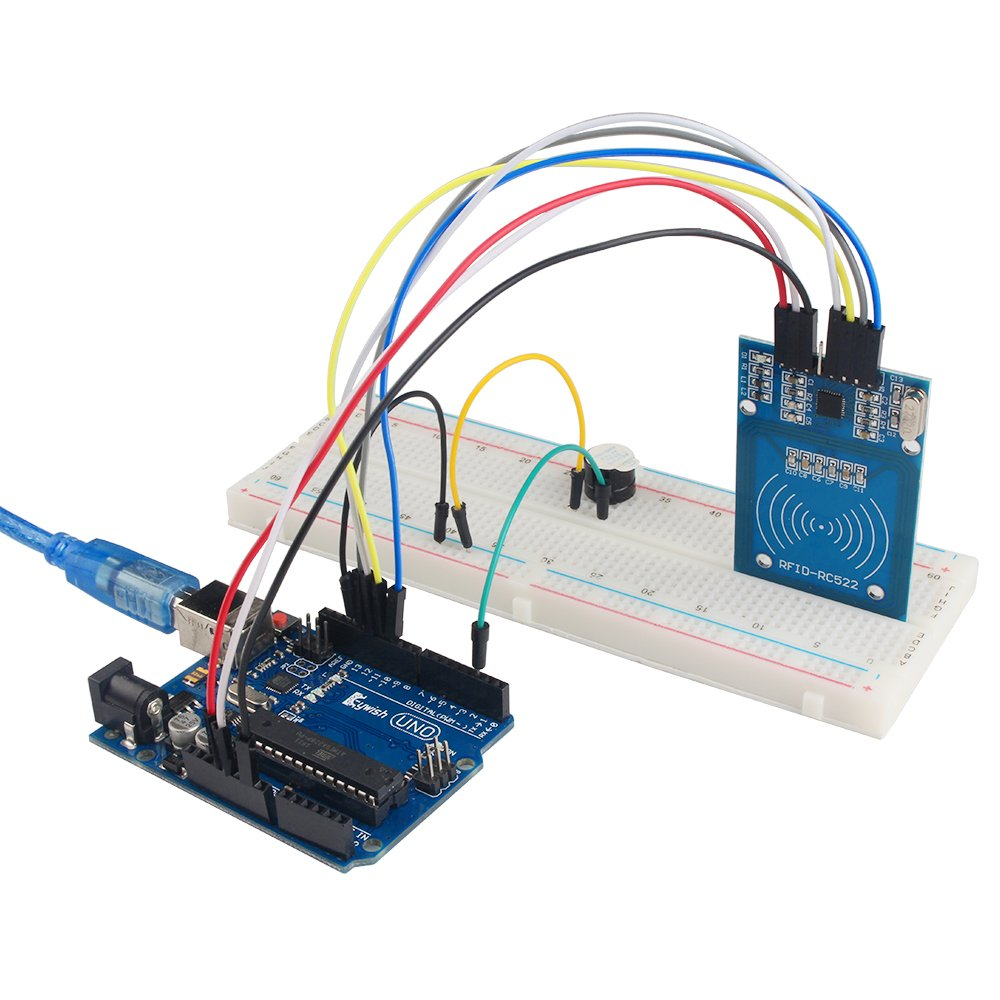 KeyWish Super RFID Sensor Starter Kit With Tutorial 28 Lessons For Arduino UNO R3 With Rain Sensor Water-level Sensor Siol Humidity LCD1602 Screen Ultrasonic Sensor RGB RC522