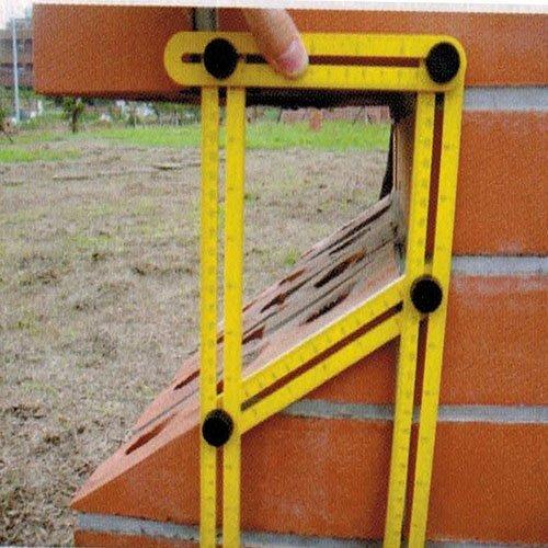 Angle Ruler Angle-izer Template Tool, Rubikliss Multi-Angle Measuring Ruler General Tools Forms Angle-izer Angle Measurement Tool Perfect for Carpenter Handymen Builders Craftsmen