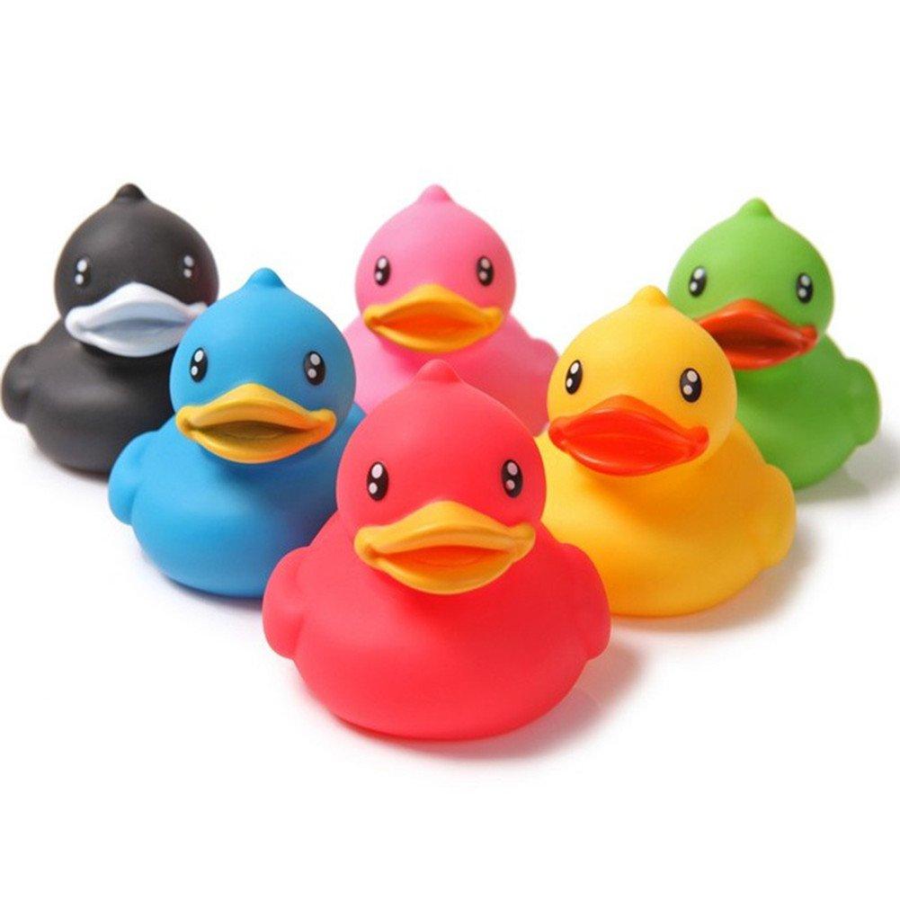 Jouets de bain – Chickwin Petits jouets de bain de bébé de canard Ensemble de bain pour enfants Jouets