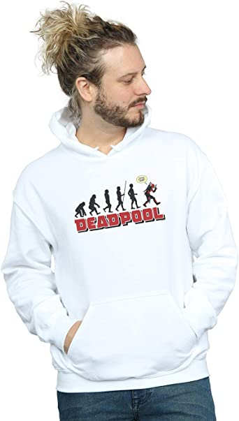 Marvel Homme Deadpool Evolution Sweat À Capuche: