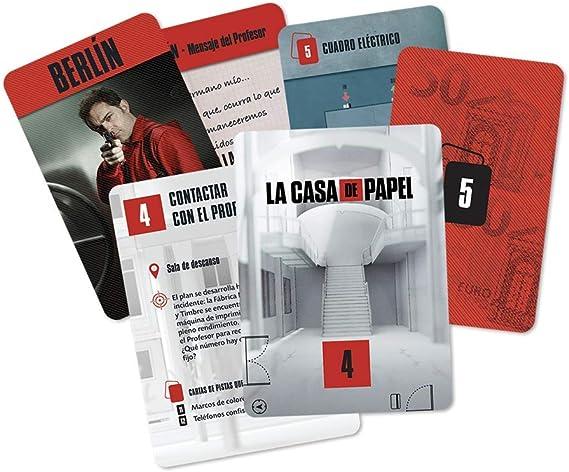 Larousse-La Casa de Papel: Escape Game-Español, multicolor, Talla Única (Lrcpeg01) , color/modelo surtido: Amazon.es: Juguetes y juegos