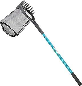Aquascape 74004 Pond Shark Net Skimming, Maintenance and Water Garden Tool, Blue