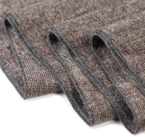 Zhukeke Mens Autumn Winter Warm Scarf Striped Neckerchief Tartan Scarves Paisley Bandannas Bandelet 18030cm for Men Long Shawls Wear-Resistant Fashion Color : 2, Size : 18030CM