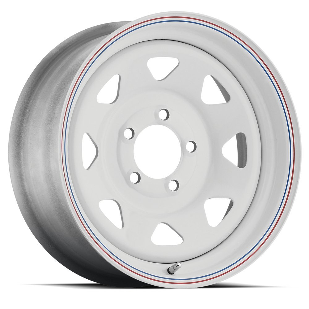 SENDEL S62 8 SPOKE WHEEL WITH PAINTED FINISH 15X6 5X4.50(114.3) +0 3.19