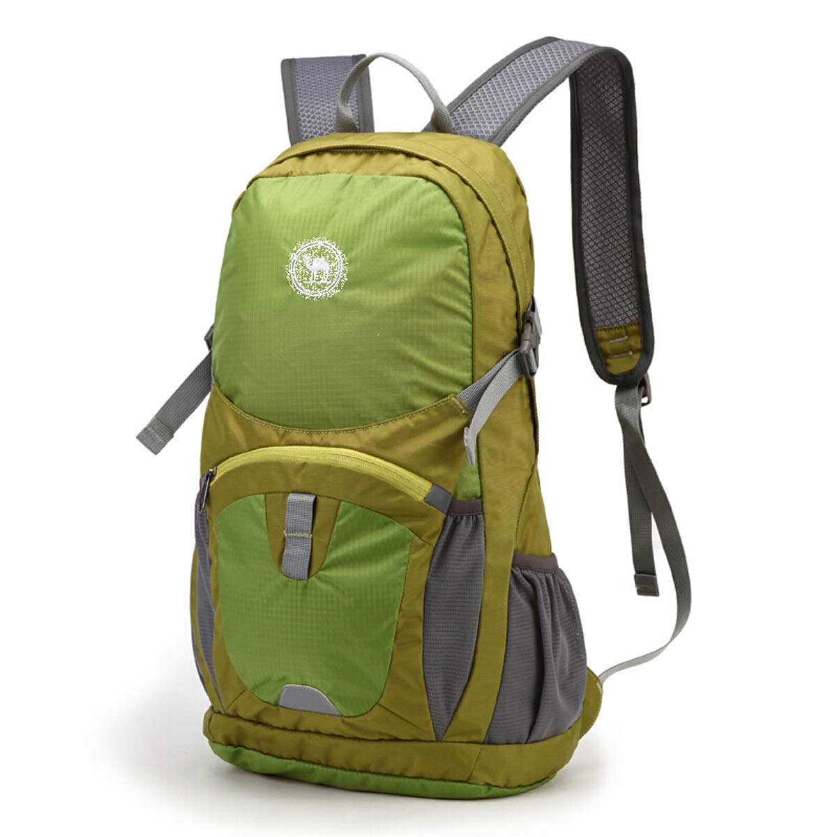 Shubiao Waterproof Sports Backpack Casual Carrying Knapsack Light Folding Mountaineering Bag Outdoor Travel Rucksack