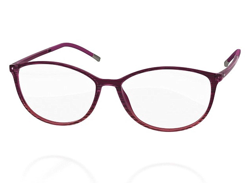 600463c4ce79 Amazon.com: Silhouette Eyeglasses SPX ILLUSION FULLRIM 1564 (6050 GREY,  54MM): Clothing