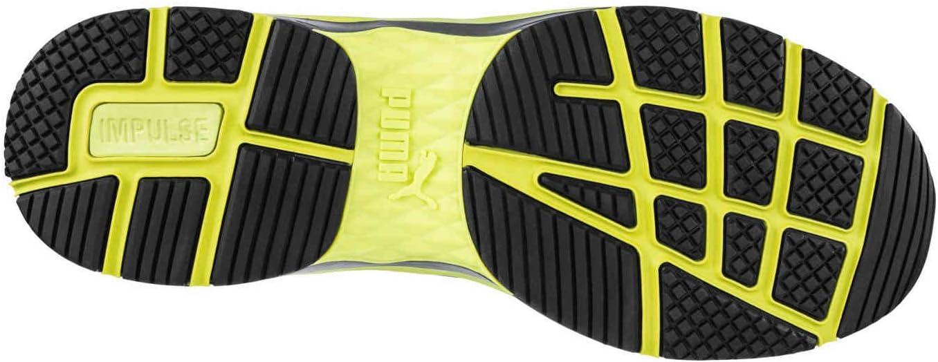 Puma, Safety 633880, Velocity 2.0, MID S3, Scarpe antinfortunistiche da uomo, gialle