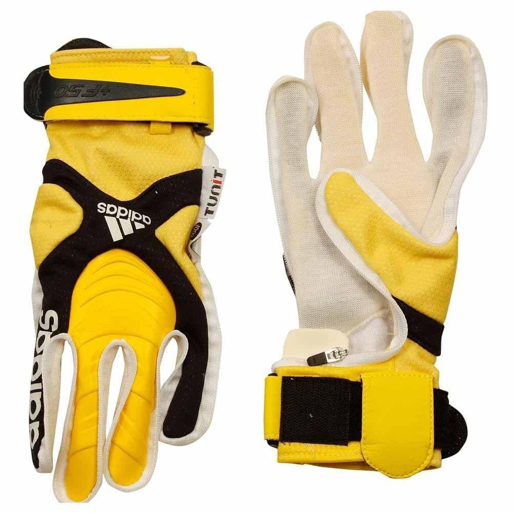 Adidas TUNIT Backhand + f50 Climaproof B000G18866White/Black/Yellow 10