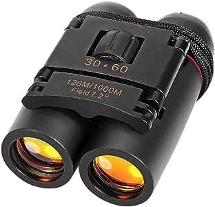 Aleola Night Vision Binoculars Telescope, Travel Scope Telescope, Day Night Vision Binoculars 30 x 60 Outdoor Travel Folding Telescope Bag- Portable Travel Telescope