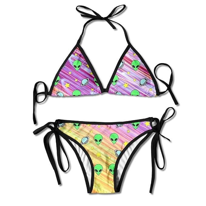 Amazon.com: qiangzhao para mujer Sexy dos piezas de ...