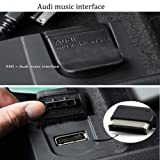 Awaqi Replacement AMI to Type C Music Cable Cord WV AMI MDI to USB Type C Audio Aux Adapter Cord [DAC Chip] for Pixel 2/XL HTC U11/U12+ Moto Z2 Compatible with Audi A3/A4/A5/A6/S5/A8/Q7/Q5