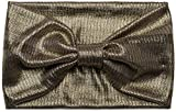 styleBREAKER headband with bow, stripes and metallic-look glitter thread, headband, ladies, 04026010, Color Gold