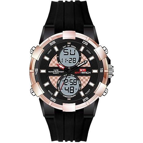 North King Reloj ElectróNico AleacióN Deportes ElectróNicos Relojes MultifuncióN De Los Hombres Relojes De Moda