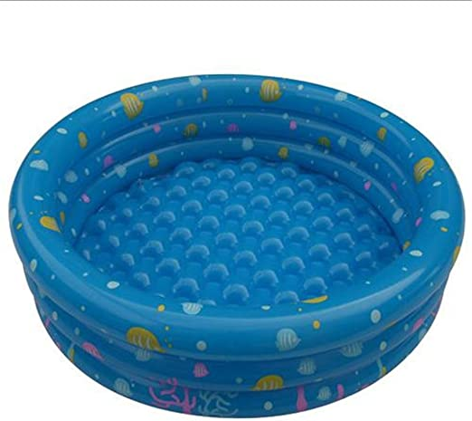 Tricyclic redondo PVC niño Inflado piscina (azul, verde, 80 * 28 ...