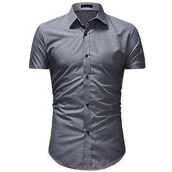 Camisas Hombre Crop Tops de Hombre Camisa Hawaiana para Hombre ...